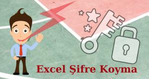 Excel Şifre Koyma