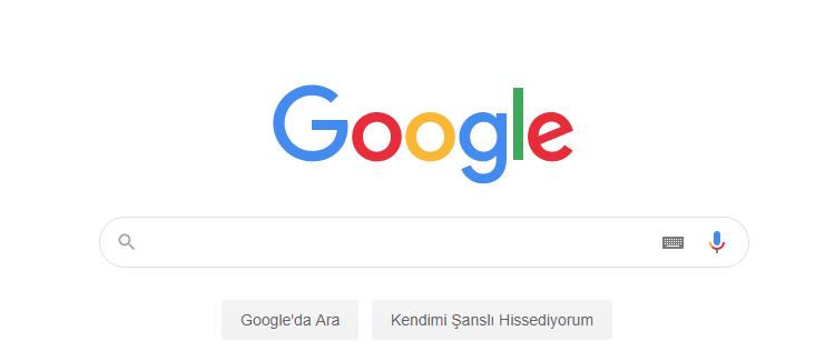 Google Arama Geçmişini Silme
