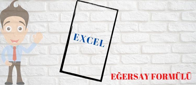 Excel Eğersay
